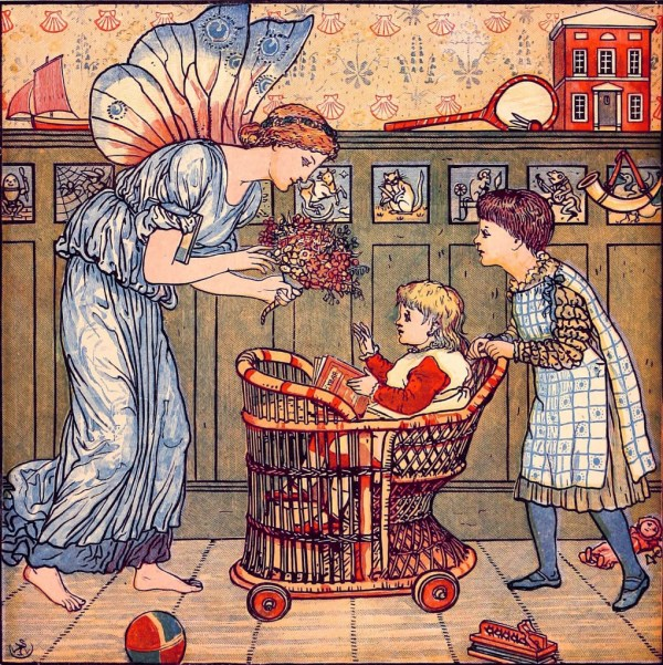Walter Crane Art Nouveau Illustrations In Color And