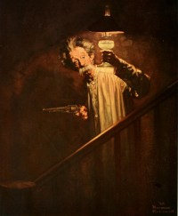 G.E. Lighting Ads by Norman Rockwell circa 1926