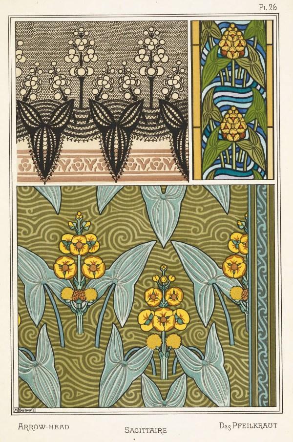 Maurice Pillard Verneuil Art Nouveau Illustration