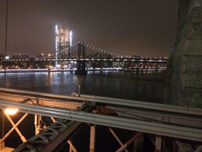 uitzicht van Brooklyn bridge