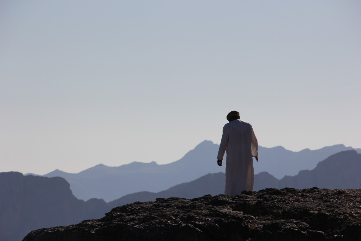 Oman 2017 omaniet op berg