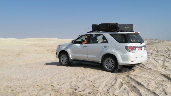 in de sugar dunes