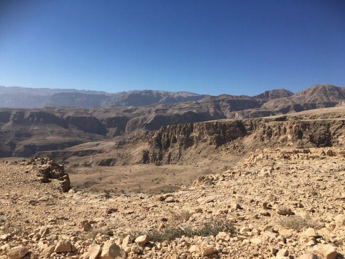uitzicht in Eastern Hajar Mountains