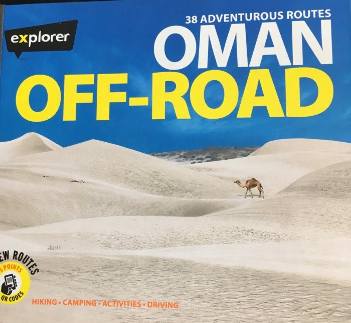 reisgids: Oman Off-Road (explorer)
