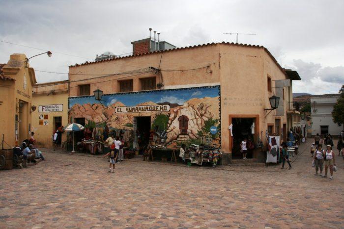 het dorp Humahuaca