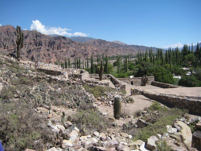 de ruines van Pucara de Tilcara
