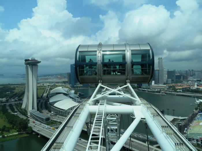 cabine van singapore flyer