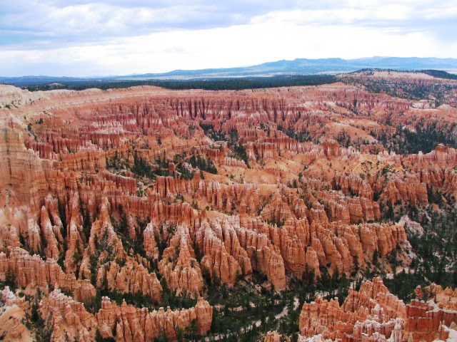 uitzicht over Bryce Canyon