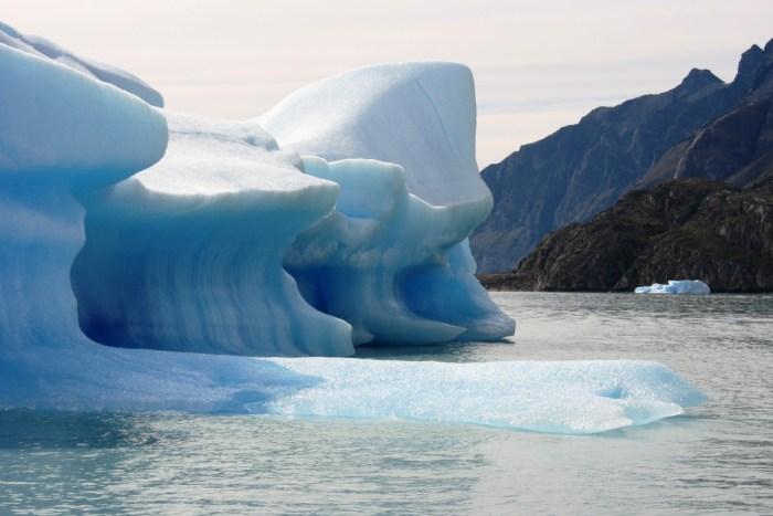 ijsschotsen upsala gletsjer