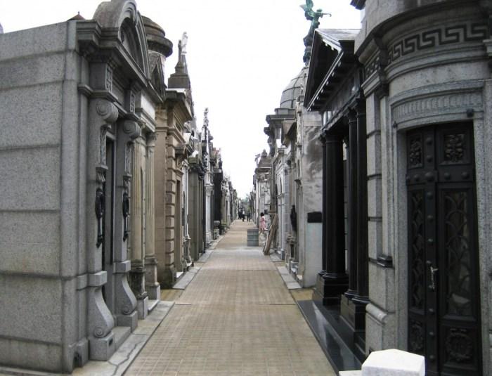 begraafplaats LA Recoleta