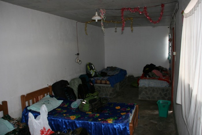 overnachtingsplek Bolivia