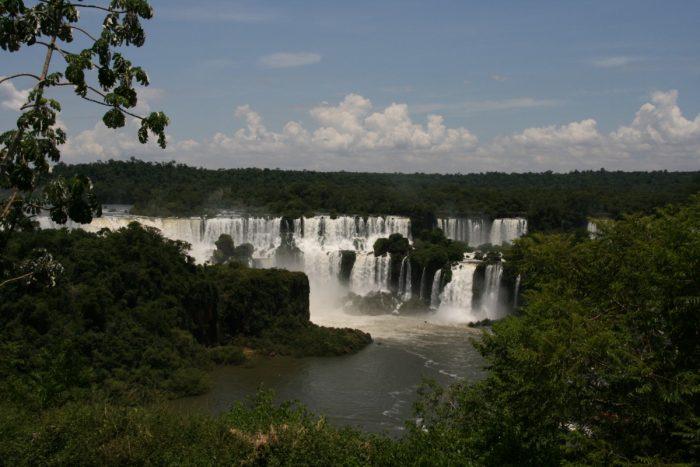 watervallen van Foz de Iguazu