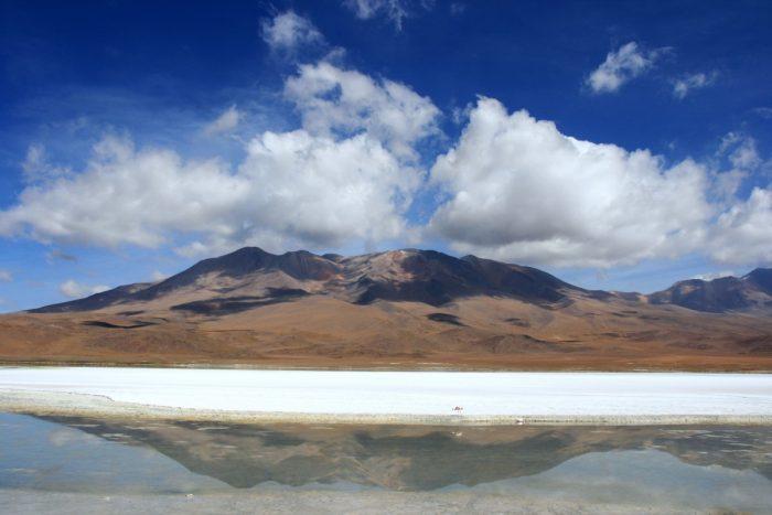 meer in Salar de Uyuni