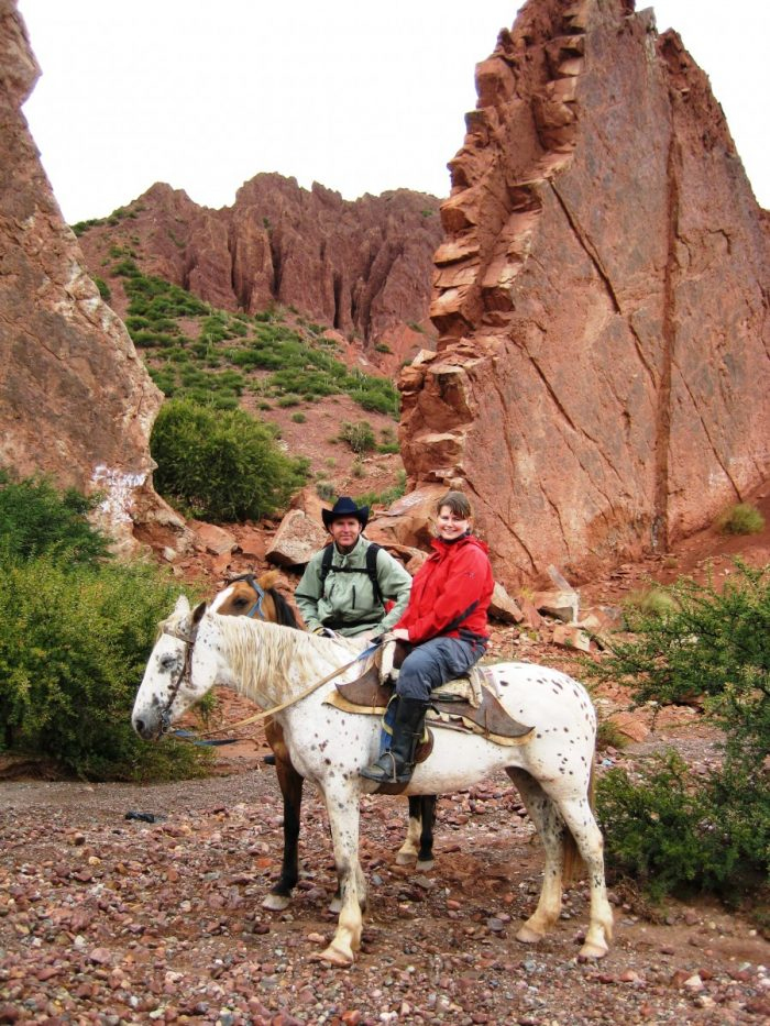 paardrijden Tupiza Bolivia