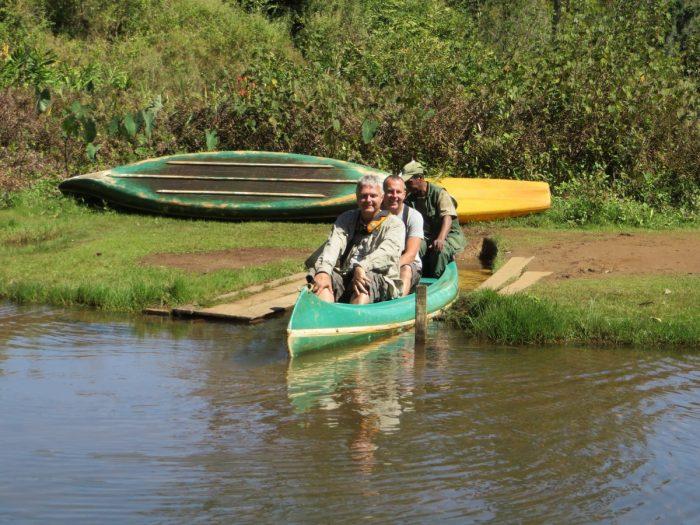 met de kano naar lemureneiland