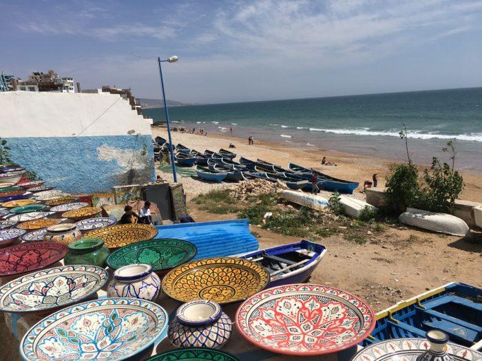 Marokkaans aardewerk in Taghazout