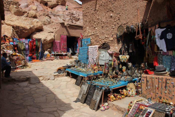 Winkeltjes voor toeristen