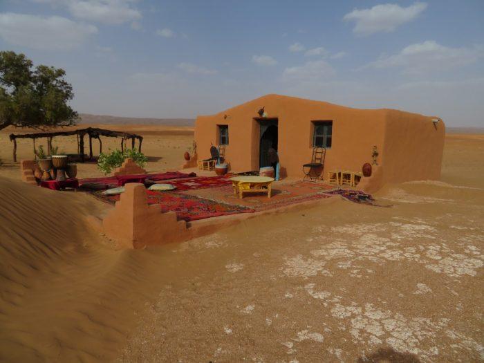 La Dune blanche woonkamer