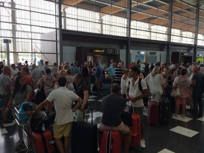 Chaos op het vliegveld