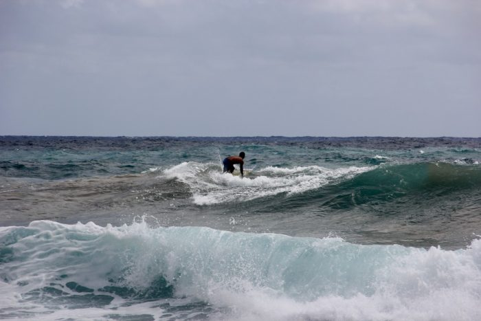 Surfen op Oahu