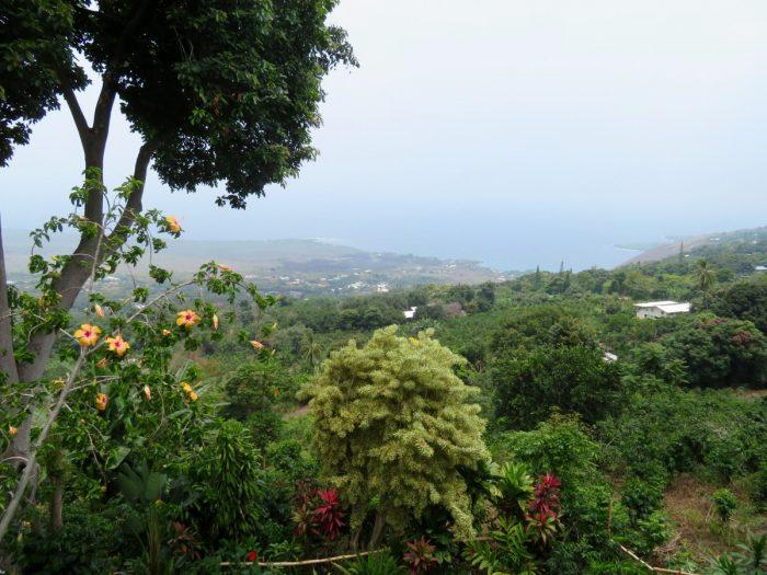 Uitzicht in de buurt van Ho'okena