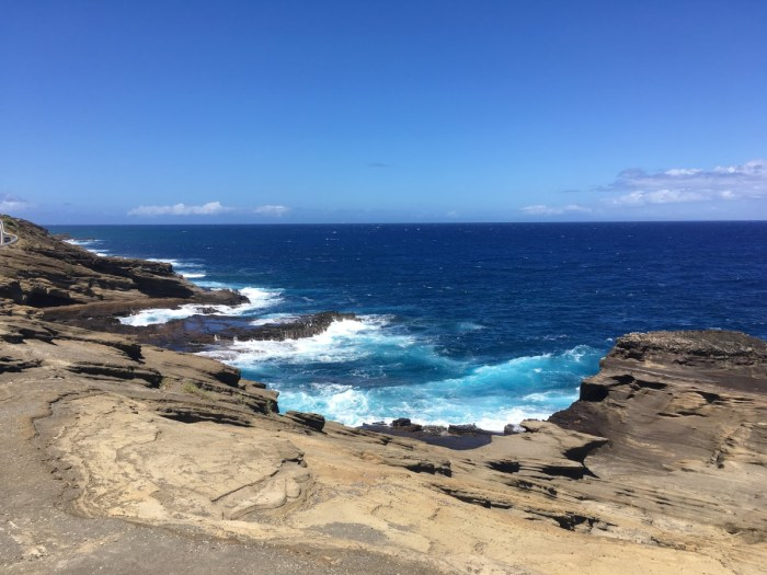 zuidelijke kust Oahu