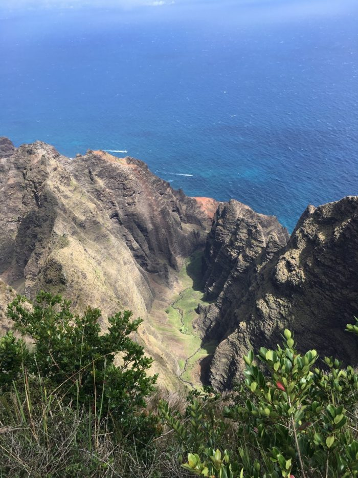 Kloof in Napali Coast