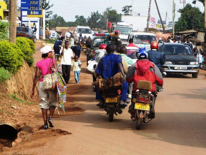 Oeganda: chaos op de wegen