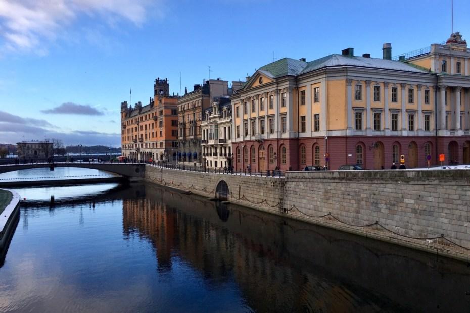 zicht op stockholm