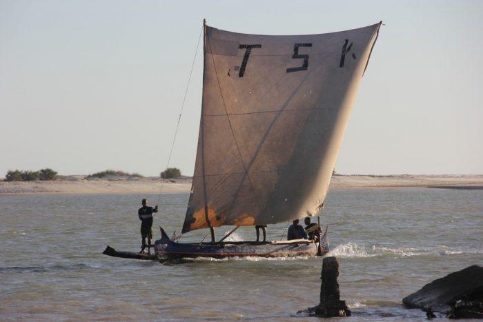 vissersboot bij Morondava