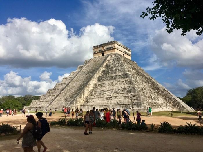 Mayapiramide van Chichen Itza