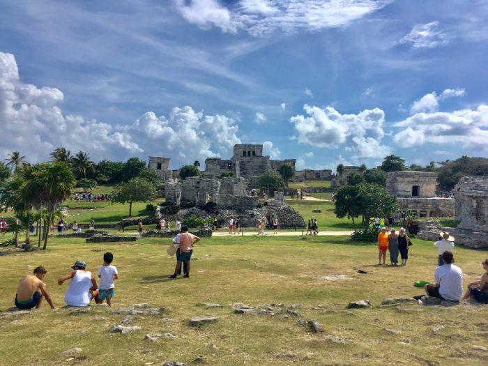 De Maya ruïnes in Tulum
