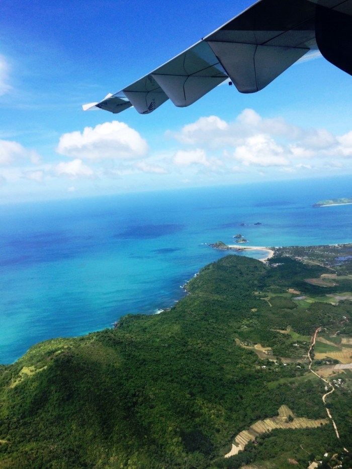 vlucht naar Boracay
