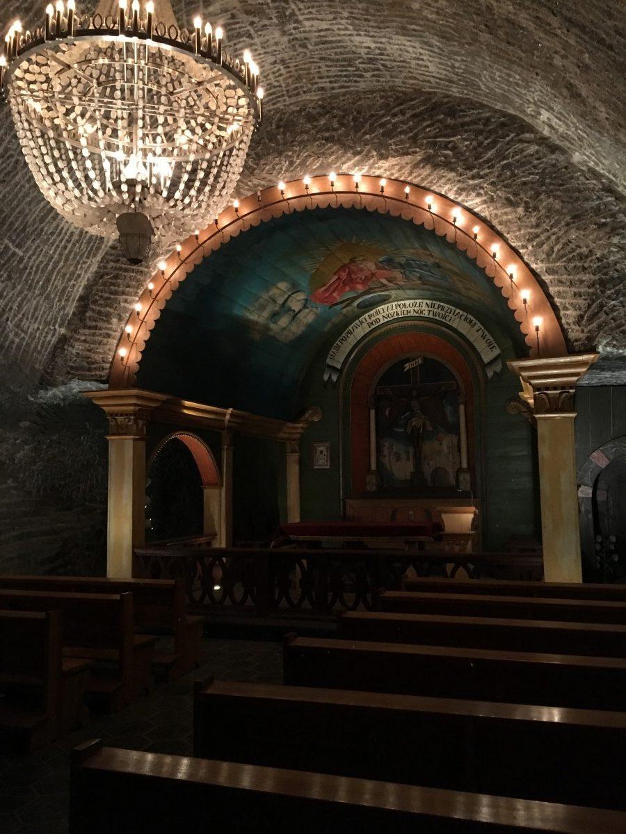 kapel in zoutmijn