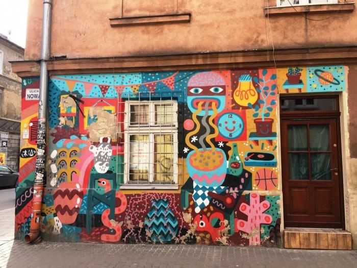 streetart, Kazimierz