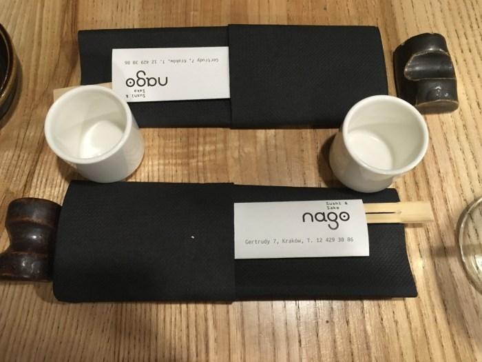 sushi Nago, Krakau