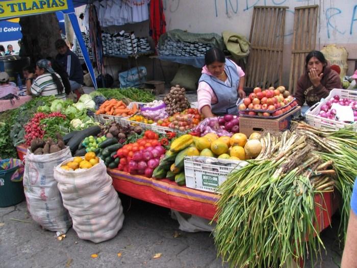 groentemarkt Otavalo