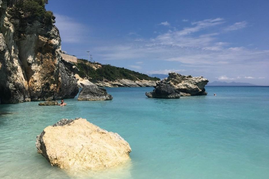 Xigia Beach, Zakynthos