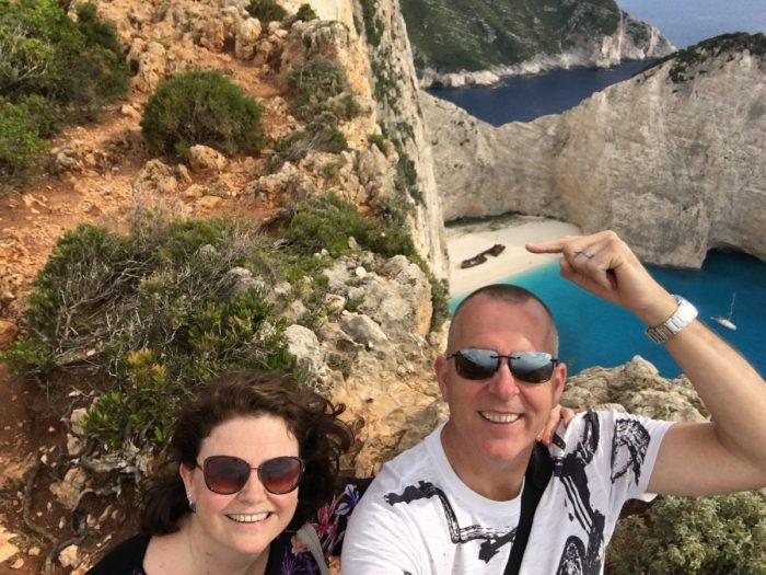 selfie met schipwreckbeach