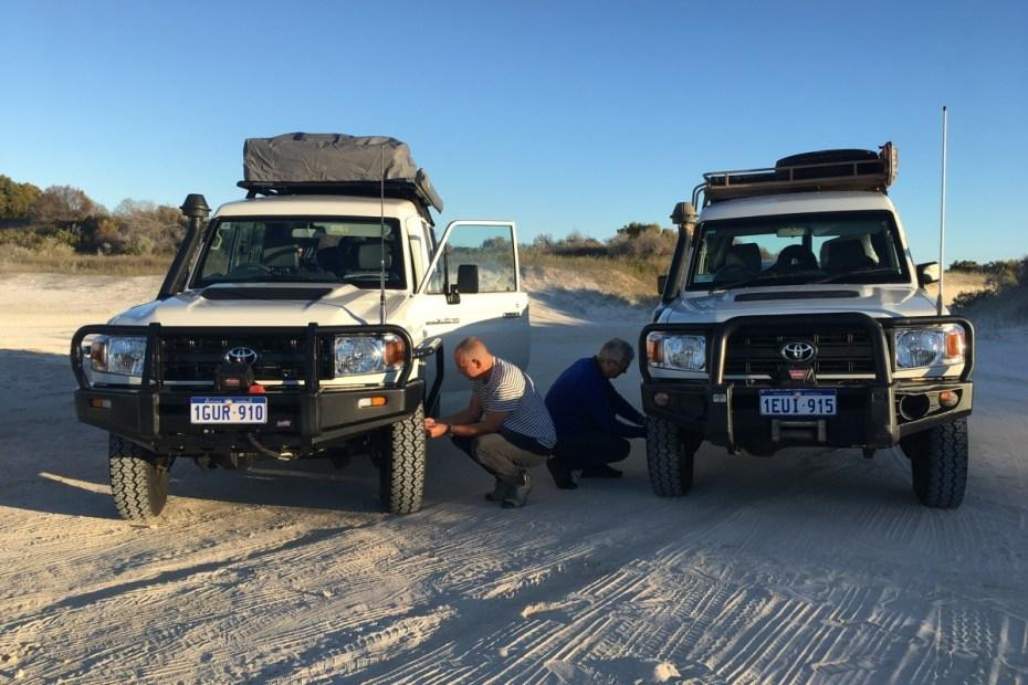 Offroad westkust Australie
