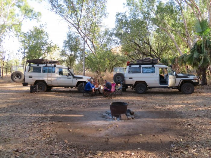 Prive kampeerplek bij El Questro