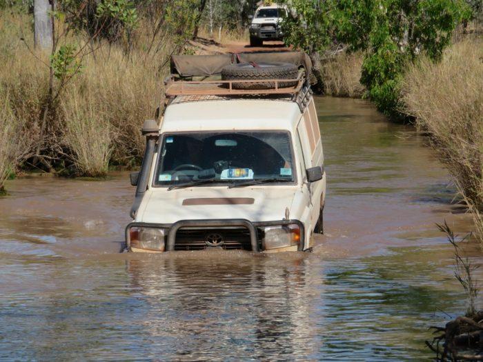 Rijden Gibb River road