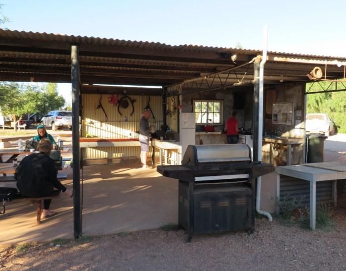 camping keuken Bularra Station