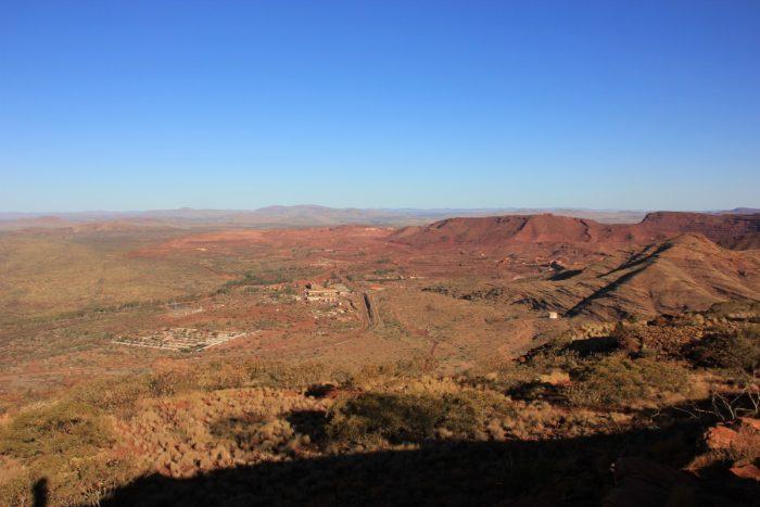 uitzicht Mount Nameless