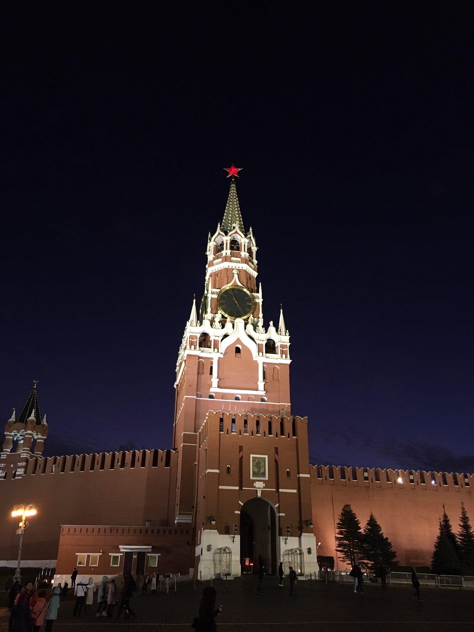 poort naar Kremlin moskou