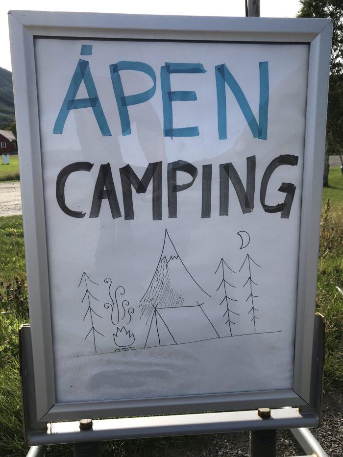 Apen camping