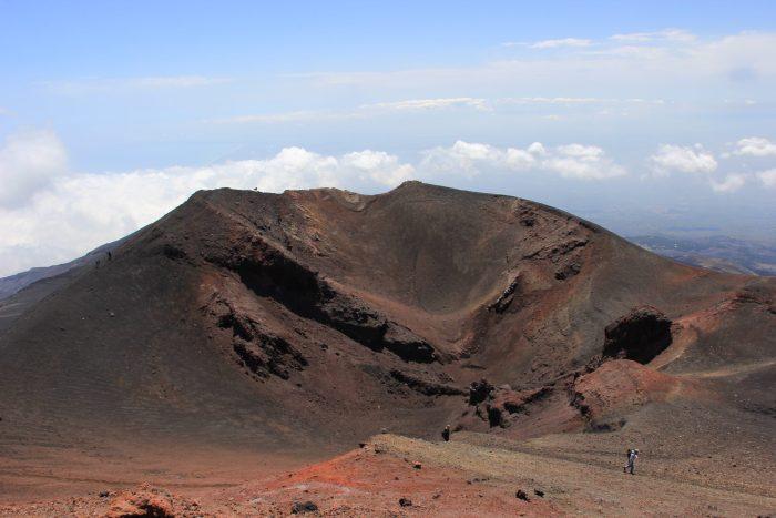 Etna vulkaankrater