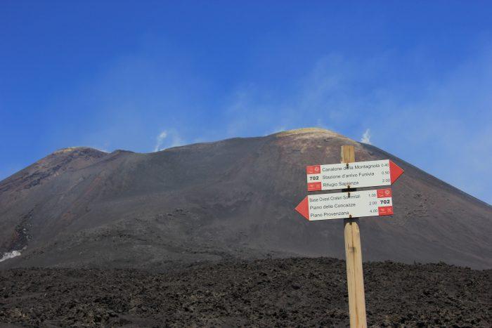 wandeling Etna