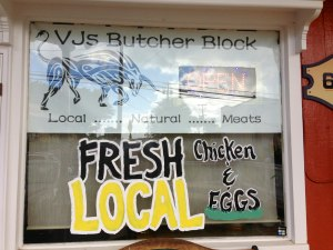 VJs, our favorite place to buy meat/fish.