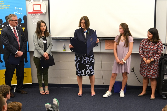 East Lyme Middle School Student Receives C Span
